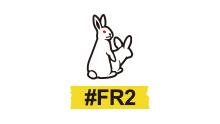 FR2 (Fxxking Rabbits)のロゴ