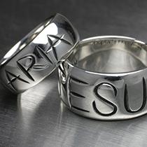 JESUS & MARIA RINGの写真