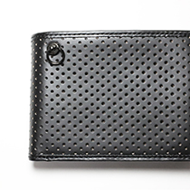 DIAMOND PUNCHING MEDIUM WALLET -LaVish-の写真