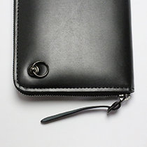 DIAMOND ZIP LONG WALLET -LaVish-の写真