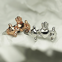 MICKEY – mini CLADDAGH RINGの写真