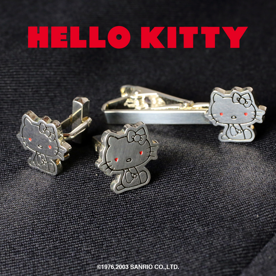 【JAM SESSION】× HELLO KITTY -TIE PIN & CUFF LINKS-の写真