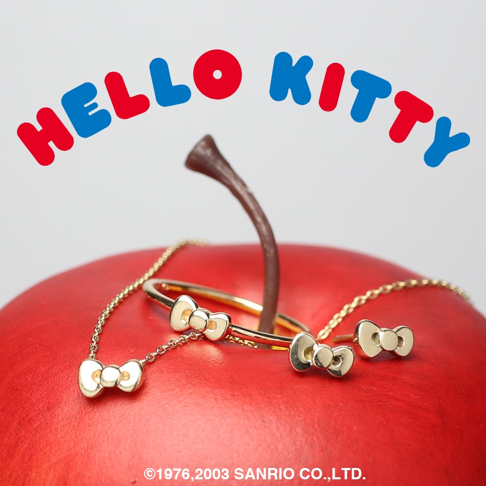 【JAM SESSION】× Hello Kitty -Ribbon Jewelry-の写真