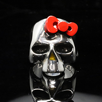 Hello Kitty KITTY SKULL SERIESの写真