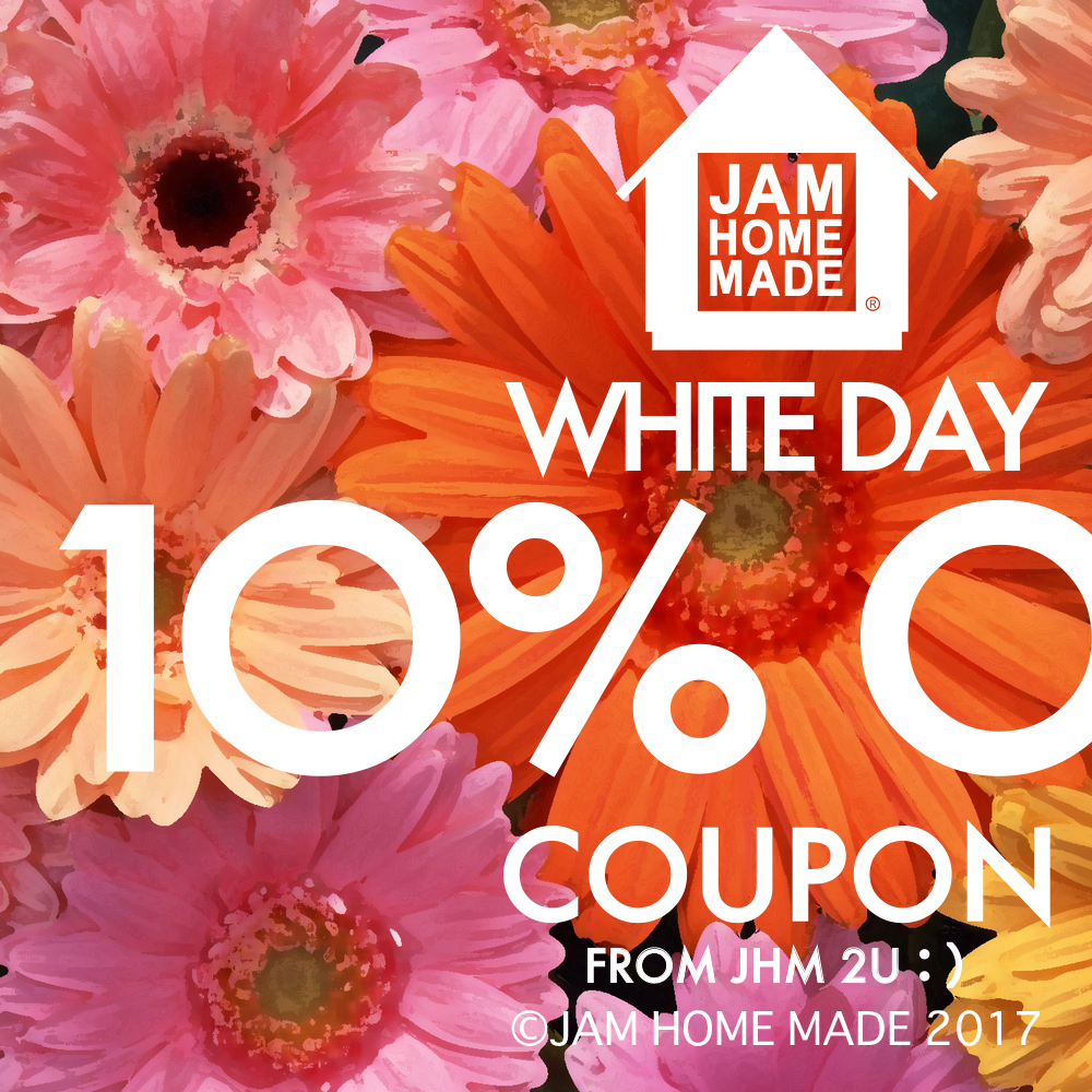 White Day 10%OFF COUPON!の写真