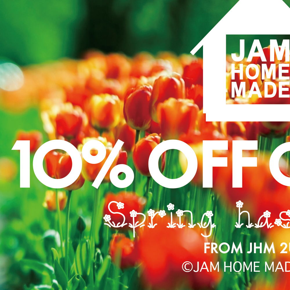 10%OFF COUPON -Spring-の写真