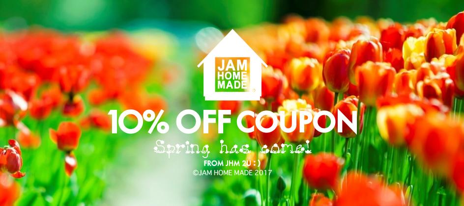10%OFF COUPON -Spring-の写真