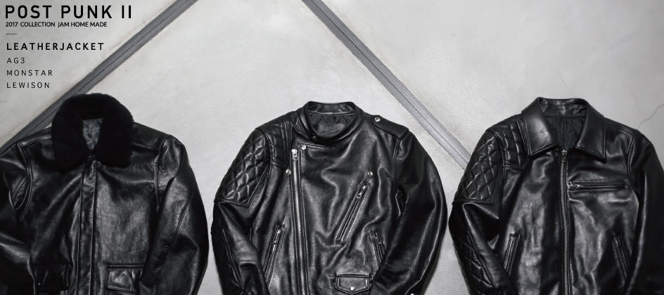 【NEW ARRIVAL】LEATHER JACKETの写真