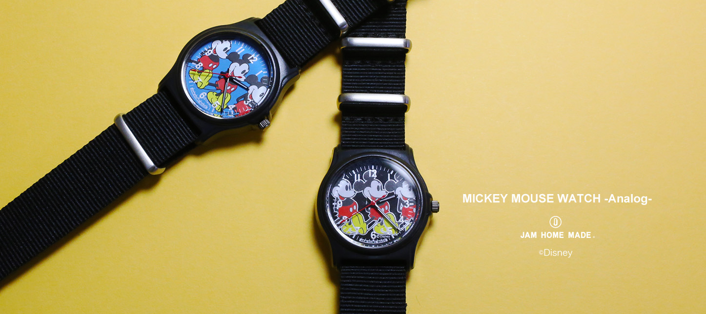 【NEW ARRIVAL】MICKEY MOUSE WATCH -Analog-の写真