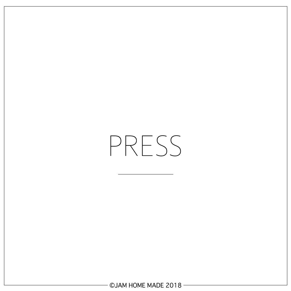 【INFO】JAM HOME MADE PRESSの写真