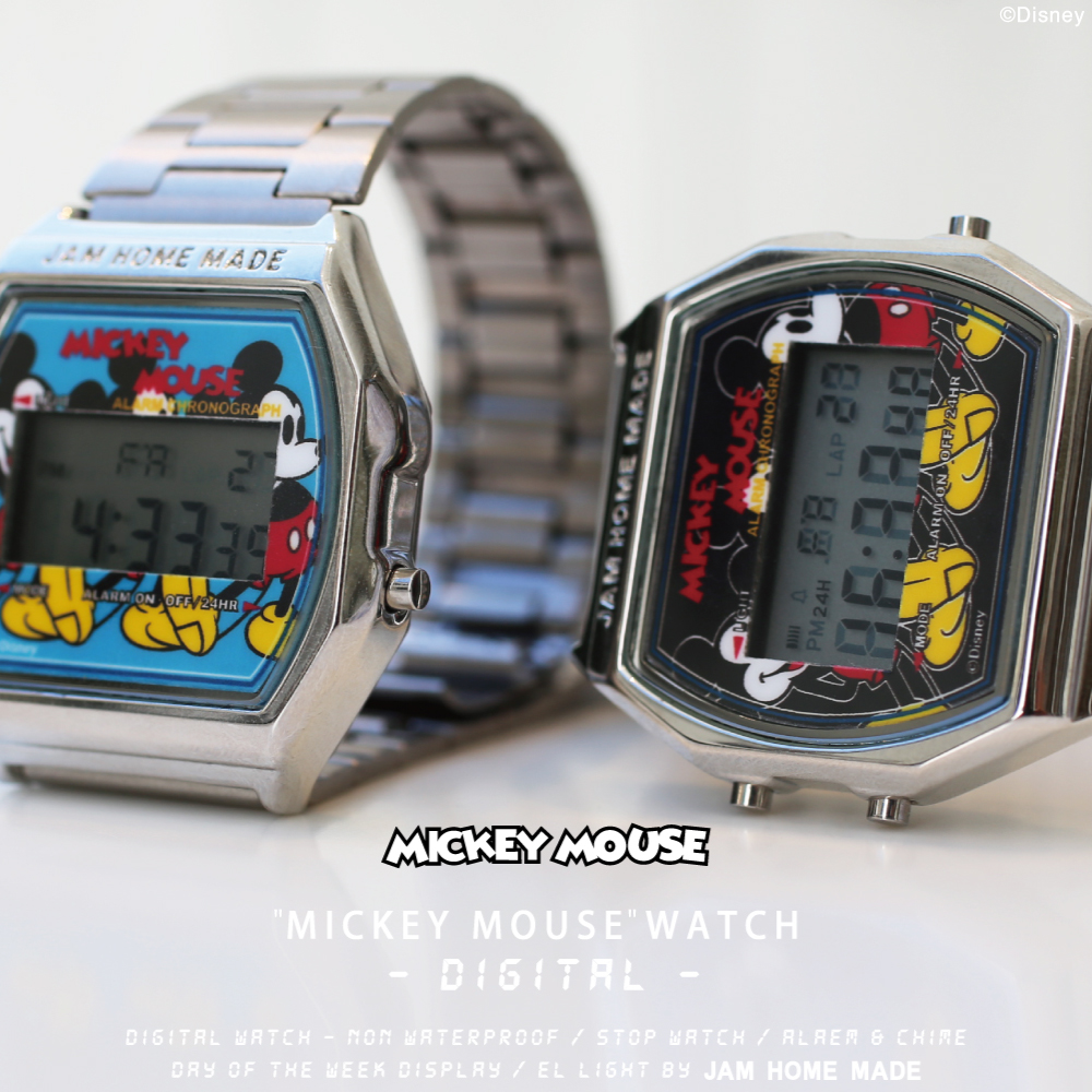 "【NEW ARRIVAL】""MICKEY MOUSE"" WATCH -Digital-の写真"