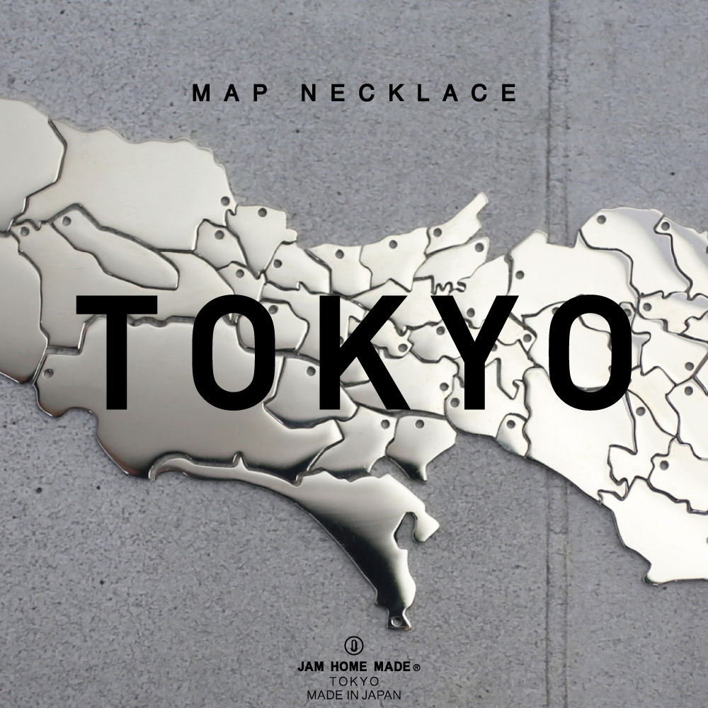 【NEW ARRIVAL】TOKYO MAP NECKLACEの写真
